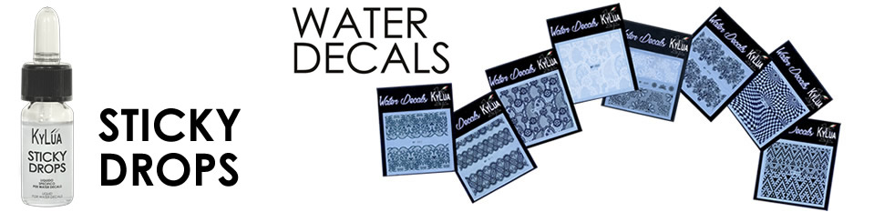 Water Decals & Sticky Drops 2017
